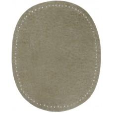 Заплатки пришивные HKM искусственная кожа, цвет серый, 2 шт