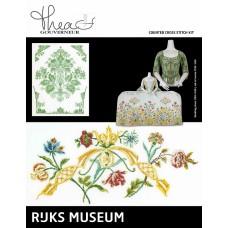 Набор для вышивания Музей Rijks Платье 1750-1760 / Жакет 1730-1749, канва лён 36 ct