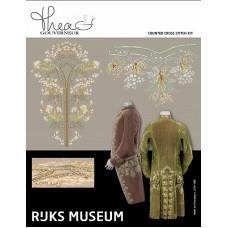 Набор для вышивания Музей Rijks habit ? la fran?aise c. 1775-1785, канва лён 36 ct