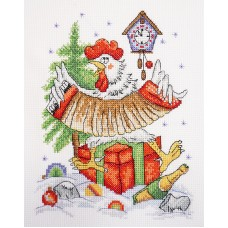 Набор для вышивания Новогоднее кукареку