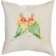 Набор для вышивания, подушка Попугаи, Luca-S