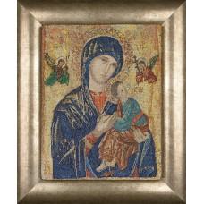 Набор для вышивания Дева Мария, канва аида 18 ct