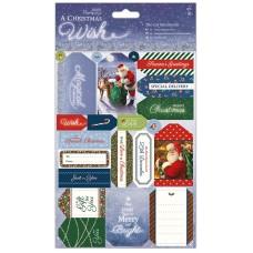 Набор бумаги с высечкой A Christmas Wish