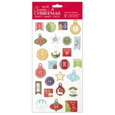 Набор стикеров Новогодние цифры Create Christmas