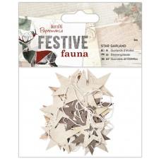 Гирлянда из звезд Festive Fauna