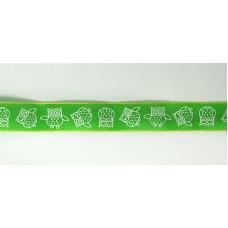 Лента с напечатанным рисунком, 15 мм, 15 м, цвет 62