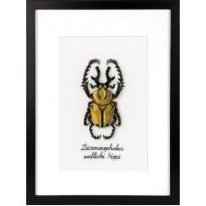 Набор для вышивания Золотой жук