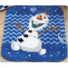 Набор для вышивания коврика Олаф Disney
