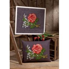Набор для вышивания Розы и лилии