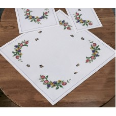 Набор для вышивания салфетки Тюльпан