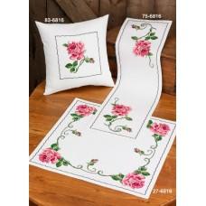 Набор для вышивания подушки Роза