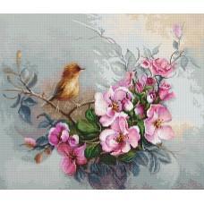 Набор для вышивания Птичка, Luca-S