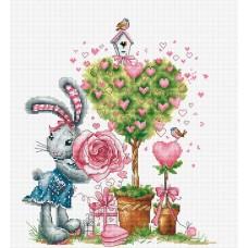 Набор для вышивания Валентинка, Luca-S