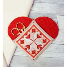 Набор для изготовления чехла Нужное сердце