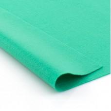 Листы фетра Hemline, 10 шт, цвет изумрудно-зеленый