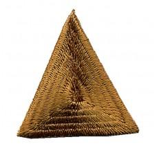 Термоаппликация HKM Треугольник цвет светло-коричневый