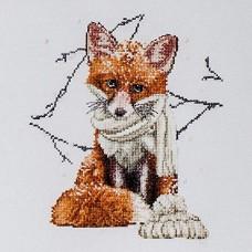 Набор для вышивания Лисичка, канва Aida 16 ct