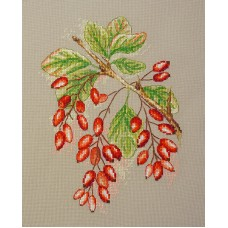 Набор для вышивания Ягоды барбариса