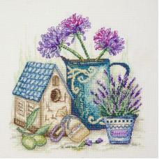 Набор для вышивания Цветы Прованса