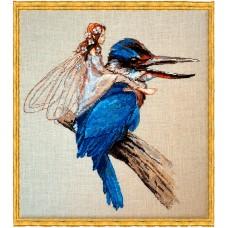 Набор для вышивания Le Martin-P?cheur (Зимородок)