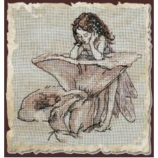 Набор для вышивания Miroir aux Girolles (Зеркало-лисичка)