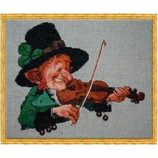 Набор для вышивания The Green Violin (Зелёный скрипач)