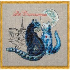 Набор для вышивания Les Chamoureux (Свидание под луной)