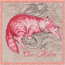Набор для вышивания Chat-Mallow (Гламурная кошечка)