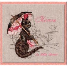 Набор для вышивания Matouvue (Под зонтом)