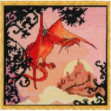 Набор для вышивания Dragon Rouge (Красный дракон)