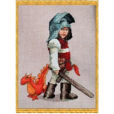 Набор для вышивания Chevalier & Doudou (Рыцарь и дракон)