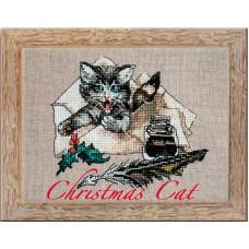 Набор для вышивания Christmas Cat (Рождественский кот)