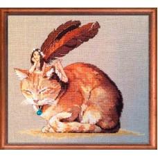 Набор для вышивания Fairycat (Фея и кот)
