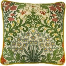 Набор для вышивания подушки Garden William Morris (Сад)