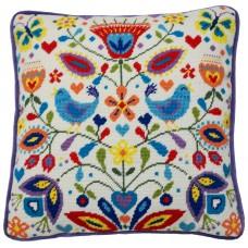 Набор для вышивания подушки Summer Melody (Летняя мелодия)