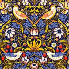 Набор для вышивания Strawberry Thief William Morris (Клубника)