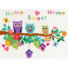 Набор для вышивания Owl Bouquet (Совы)