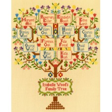 Набор для вышивания Traditional Family Tree (Традиционное семейное дерево)