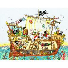 Набор для вышивания Pirate Ship (Пиратский корабль)