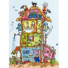 Набор для вышивания Cottage (Коттедж)