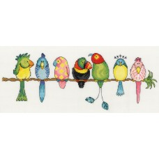 Набор для вышивания Exotic Birds (Экзотические птицы)