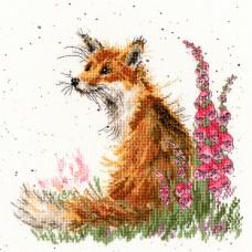 Набор для вышивания Amongst the Foxgloves (Лиса и наперстянка)