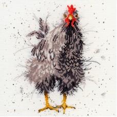 Набор для вышивания Curious Hen (Любопытная курица)