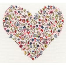 Набор для вышивания Love Heart (Любимое сердце)