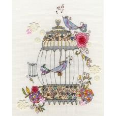 Набор для вышивания Love Birds (Любимые птицы)