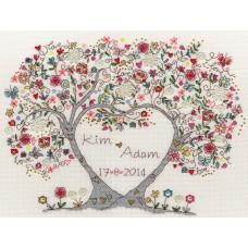 Набор для вышивания Love Blossoms (Любимые цветы)