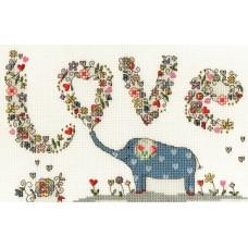 Набор для вышивания Love Elly (Люблю Элли)