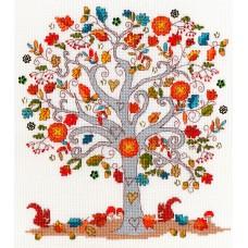Набор для вышивания Love Autumn (Любимая осень)