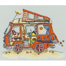 Набор для вышивания VW Van (Автобус Фольксваген)