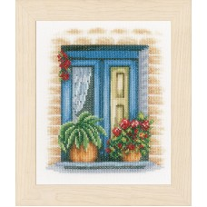 Набор для вышивания Blue window LANARTE